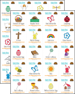Easter Bingo Calling Cards