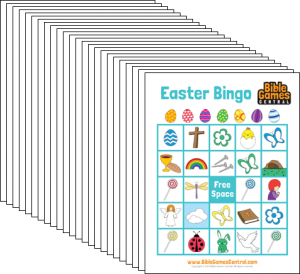 Easter Bingo Cards Printable