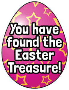 Easter Treasure Hunt Clue 12