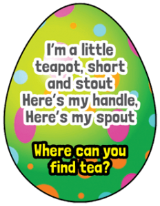 Easter Treasure Hunt Clue 8