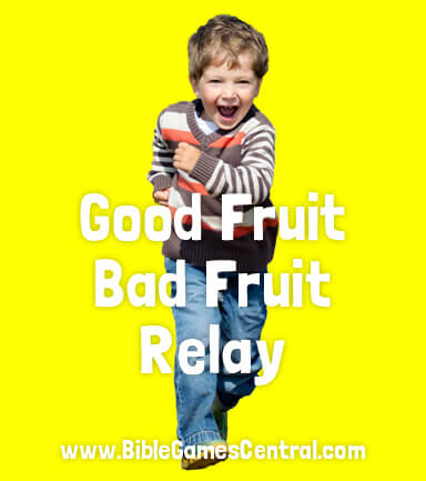 Good Fruit Bad Fruit Relay