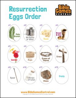 Resurrection Eggs Order