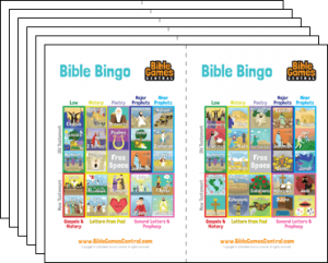 Bible Bingo   Free Printable Bible Bingo Cards