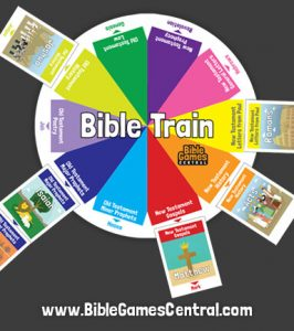 Bible Train Books of the Bible Game