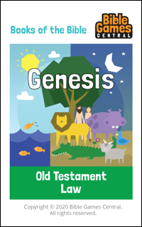 Books of the Bible Card - Books of the Bible Game