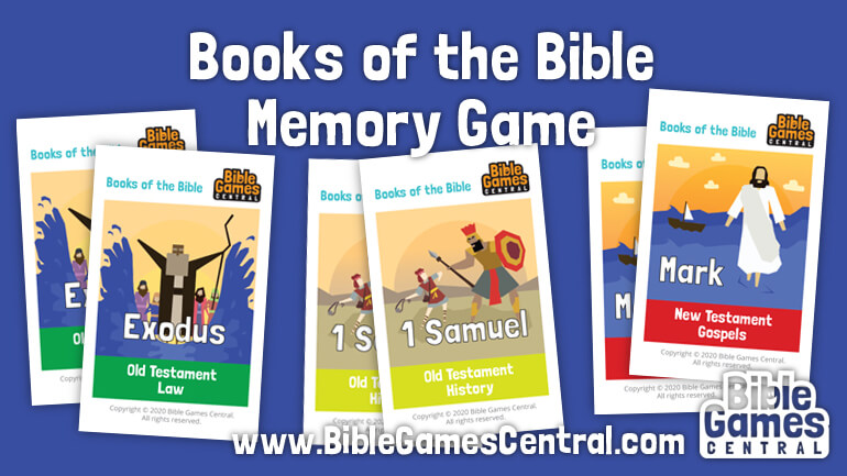 Books Of The Bible Memory Game Free Printable Books Of The Bible Cards