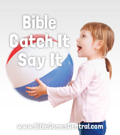 Bible Catch It Say It Books of the Bible Game