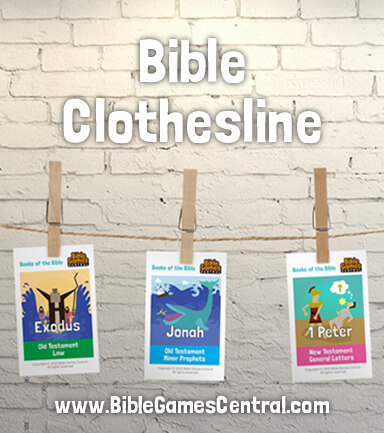 Bible Clothesline Books of the Bible Game