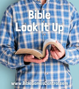 Bible Look It Up Game
