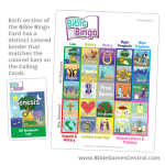 Bible Bingo Color Border