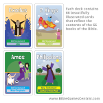 Bible Memory Game Cards