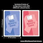 Bible Memory Game Decks