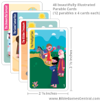 Parable Parade Cards
