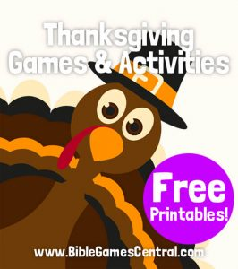 Thanksgiving Games and Activities