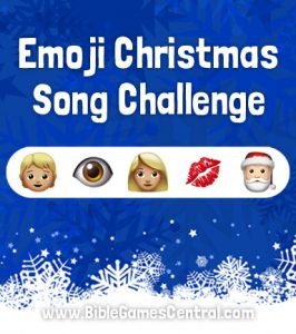 Emoji Christmas Song Challenge