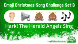 Emoji Christmas Song Challenge Set B
