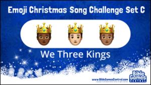 Emoji Christmas Song Challenge Set C