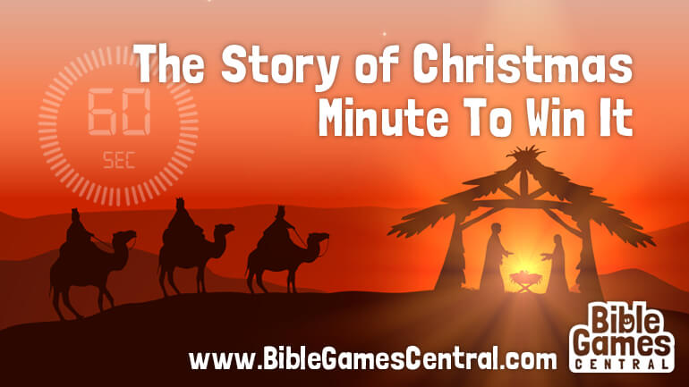 Story of Christmas Minute To Win It
