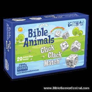 Bible Animals Click Clack Match Box Product