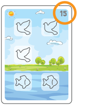 Bible Animals Click Clack Match Card3 Description
