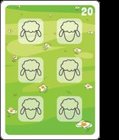 Bible Animals Click Clack Match Card8 Description