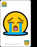 Emoji Bible Stories Crying Description