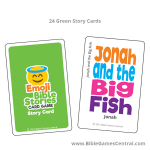 Emoji Bible Stories Green Story Cards Product