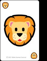 Emoji Bible Stories Lion Description