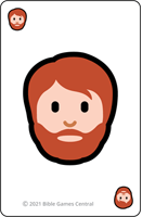 Emoji Bible Stories Man Description