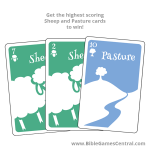 The Good Shepherd Sheep and Pasture Cards Product
