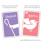 The Good Shepherd Sparrow and Shepherd Cards Product