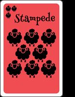 The Good Shepherd Stampede Card Description