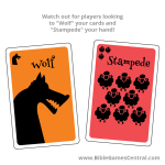 The Good Shepherd Wolf and Stampede Cards Product