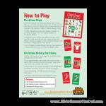 Christmas Bingo How to Play Product