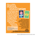 Parable Parade Card Game Product