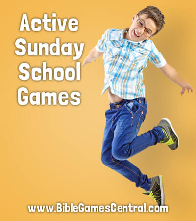 Active Sunday School Games