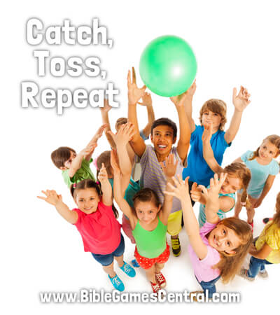 Catch, Toss, Repeat Noisy Youth Group Game