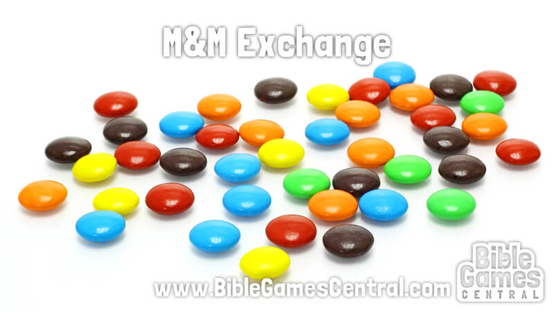M and M Exchange Church Icebreaker Game