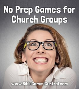No Prep Games for Church Groups