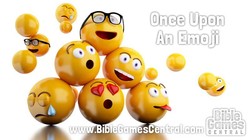Once Upon an Emoji Calm Sunday School Game