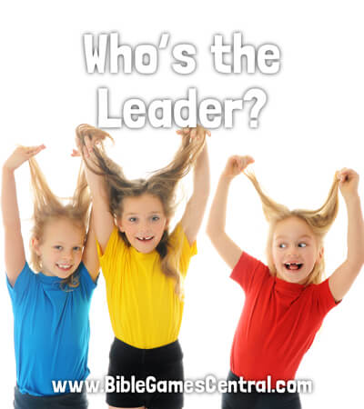 Who's the Leader No Prep Youth Group Games