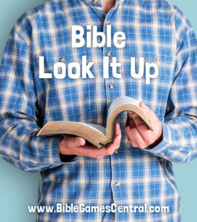 Bible Verse Look It Up Game