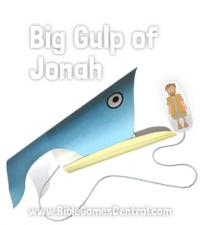 Jonah and the Whale Craft