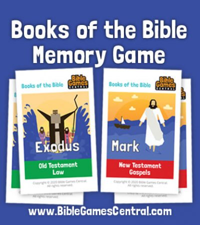 Books of the Bible Memory Game | Free Printable Books of the Bible Cards