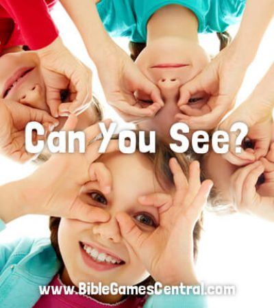 Can You See Church Game for Kids