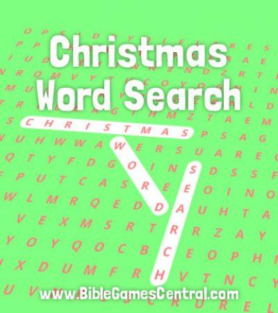 Christmas Word Search