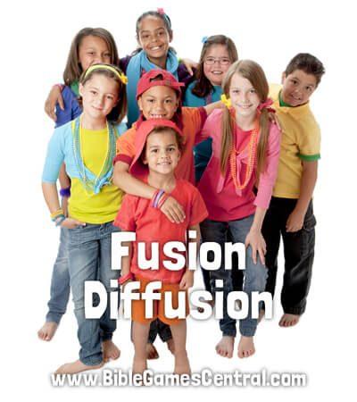 Fusion Diffusion Active Sunday School Game