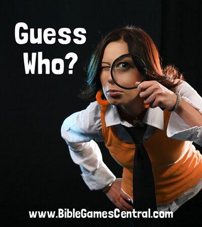 Guess Who? No Prep Game
