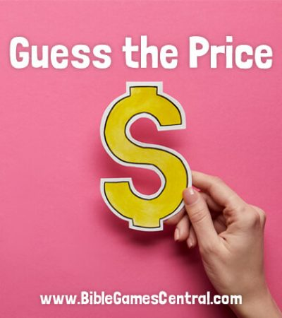 Guess the Price Bible Game for Adults and Youths