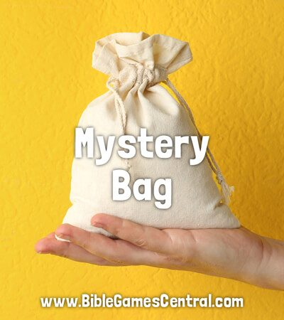 Mystery Bag Calm Sunday School Game